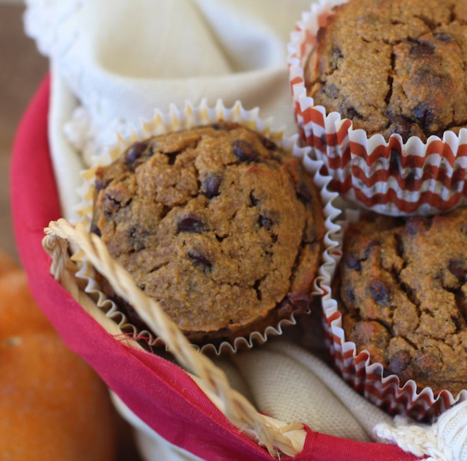 """Featured image for """"Pumpkin Chocolate Chip Muffins"""""""