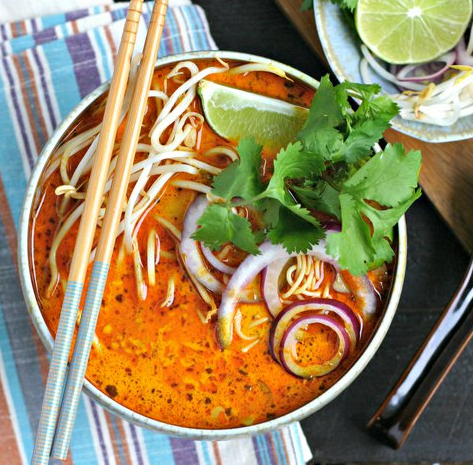 """Featured image for """"Red Curry Thai Noodle Soup"""""""